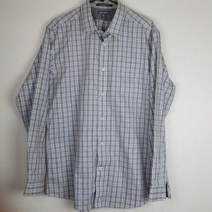 Eddie Bauer  wrinkle free shirt size L